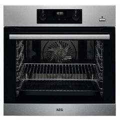 Aeg BES255011M Built In Single Electric Oven- 71L Multifunctional Oven
