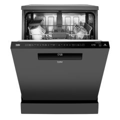 Beko DEN59420DG 14 Place Setting Full Size Dishwasher - connects to Wifi