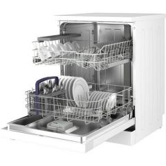 Beko DFN04C11W 13 Place Settings Dishwasher A+ Energy Rated, 4 Programmes, 49Db, Half Load Function,