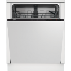 Beko DIN15322 Built In Full Size Dishwasher With 13 Places