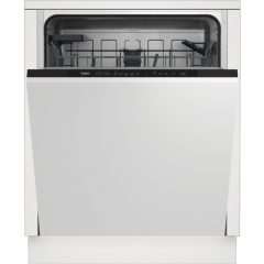 Beko DIN15C20 Fully Integrated Dishwasher With 14 Places
