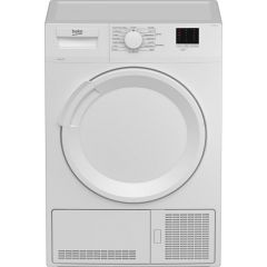 Beko DTLCE80041W Condenser Tumble Dryer with 8Kg Capacity