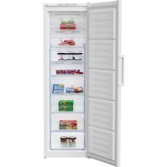Beko FFP3579W Tall Freezer  in white with  220L W54cm
