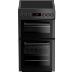 Blomberg HKS900N Electric Double Oven Cooker - Width 50CM in Anthracite