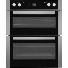 Blomberg OTN9302X Built Under Double Oven - 48L Main Fan 38L Conventional Top Oven