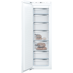Bosch GIN81AEF0G Built In No Frost Tall Freezer With 211 Litre Capacity