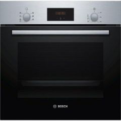 Bosch HBF113BR0B Electric Built In Single Oven - 66L - 3D Hot Air- S/Steel