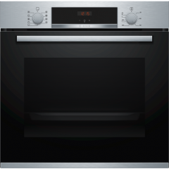 Bosch HBS534BS0B Built In Electric Single Oven With 3D Hot Air