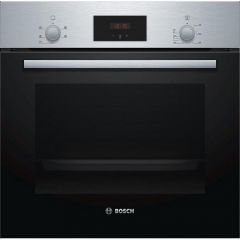 Bosch HHF113BR0B Built In Electric Single Oven  with  66 Litres Capacity and 3D Hot Air