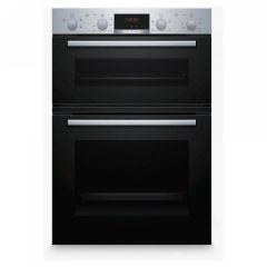 Bosch MHA133BR0B Built In Double Oven With 3D Hot Air