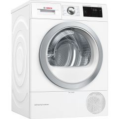 Bosch WTWH7660GB 9kg Condesnser Tumble Dryer with Heat Pump A++ Rated, 9Kg, Heat Pump, Self Cleaning Condenser, 24 Hr Delay Start, 13 Programm