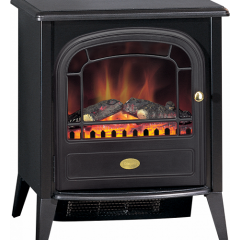 Dimplex CLB20E Optiflame Led Club Electric Stove -2Kw Fan Heater