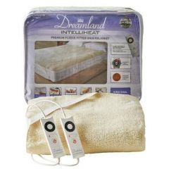 Dreamland Intelliheat Premium Fleece Easy Fit Heated Under Blanket