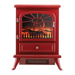 Focal Point ES2000-BURGUNDY Freestanding Electric Stove In Burgundy