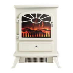 Focal Point ES2000-CREAM Freestanding Electric Stove In Cream