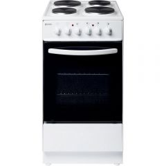 Haden HES50W 50Cm Single Oven Electric Cooker 52L Conventional Oven