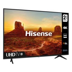 Hisense 43A7100FTUK 43` Ultra HD Smart TV With Freeview Play