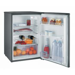 Hoover HFLE54XK 125L Under Counter Larder Fridge in Dark Silver