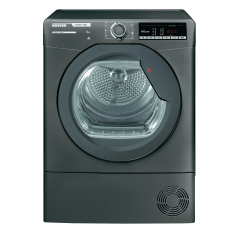 Hoover HLXC8TRGR 8Kg Condenser Dryer in Graphite