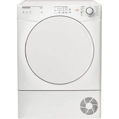 HOOVER HLC8LF 8KG CONDENSER TUMBLE DRYER WITH SENSOR DRY