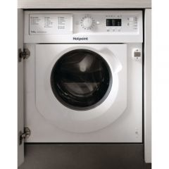 Hotpoint BIWDHL7128 Built In Washer Dryer 7Kg Wash And 5 Kg Dry 1200 Rpm