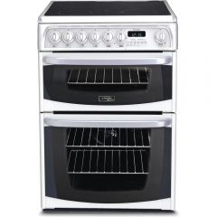 Hotpoint CH60EKW (S) Cannon 60Cm Electric Double Oven Cooker