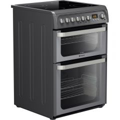 Hotpoint HUE61G 60Cm Electric Double Oven