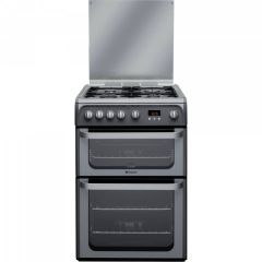 Hotpoint HUG61G 60Cm Double Oven Gas Cooker