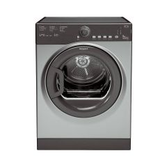 Hotpoint TVFS83CGG 8Kg Vented Tumble Dryer In Graphite with sensor drying technology