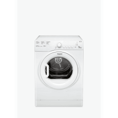Hotpoint TVFS83CGP9 8Kg Vented Tumble Dryer With Sensor Dry Option + C Energy Rating