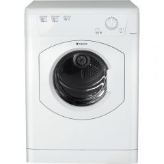 Hotpoint TVHM80CP 8Kg Vented Tumble Dryer In White