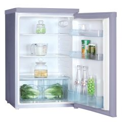 Iceking RHL550SAP2 Silver Under Counter Larder Fridge - W55cm - 132L