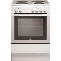Indesit I6EVAW 60Cm Single Oven Electric Cooker With Sealed Plate Hob