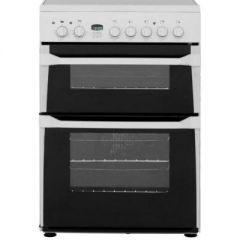 Indesit ID60C2W Electric Double Oven Cooker - W60CM