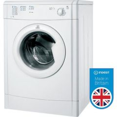 Indesit IDV75(UK) 7kg Vented Tumble Dryer 120 MIN TIMER  B ENERGY RATING  H85 x W59.5 x D58.4CM