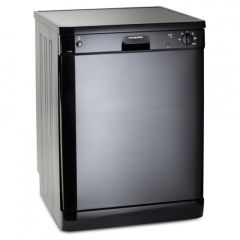 Montpellier DW1254K Full Size Black Dishwasher With 12 Place Settings