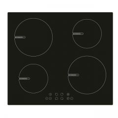 Montpellier INT600 4 Zone Induction Hob In Black