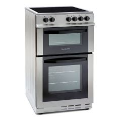 Montpellier MDC500FS 50Cm Double Oven Electric Cooker With Fan Main Oven