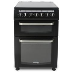 Montpellier TCC60BK 60 Cm Twin Cavity Electric Cooker