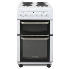 Montpellier TCE51W 50Cm Twin Cavity Electric Cooker
