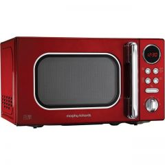 Morphy Richards 511502 20L Microwave In Red With 800W