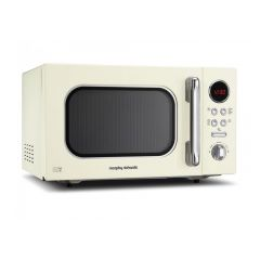 Morphy Richards 511511 23Litre/800 W Solo Microwave With Digital Display in Cream