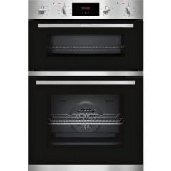Neff U1GCC0AN0B Built In Double Oven A Rated, Electric, 71L Main Oven 34L Top Oven