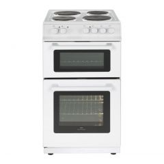 New World NW50ET 50Cm Twin Cavity Electric Cooker - 50L Conventiona; Oven, 37L Top Grill