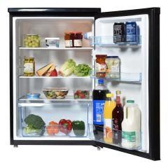 Statesman L255B 55Cm Under Counter Larder Fridge In Black 133 Litre Capacity H84.5 X W55.3 X D57.4 CM