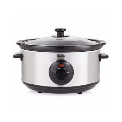 Swan SF17020N 3.5Ltr Stainless Slow Cooker