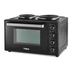 Tower T14044 32L Mini Oven With Hotplates
