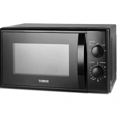 Tower T24034BLK 20L Manual Microwave