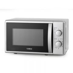 Tower T24034SIL 20L 700W Manual Microwave