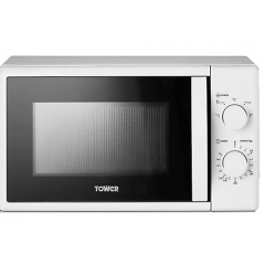 Tower T24034WHT 20L 700W Manual Microwave